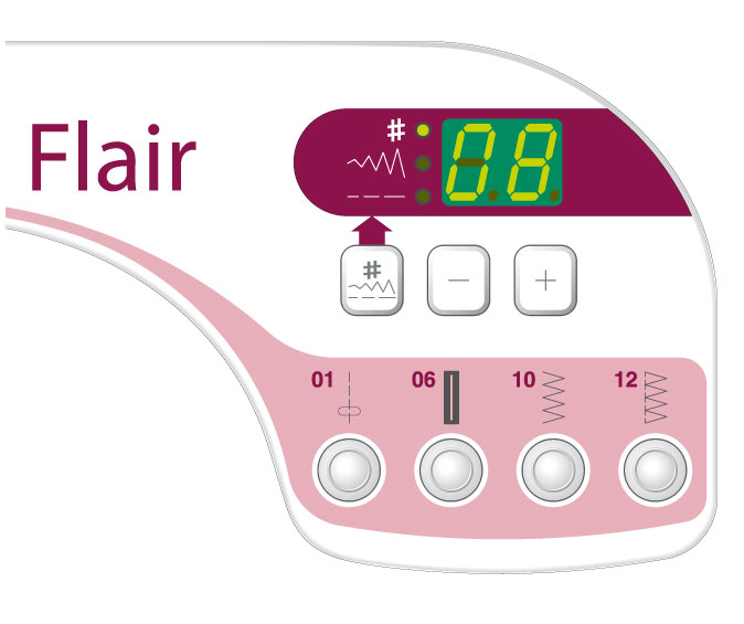 Flair Computerised Sewing Machines For Schools