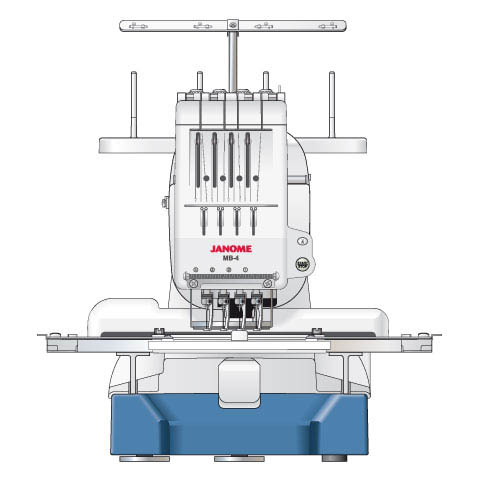 Project Textiles Mb4 Embroidery Machine